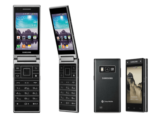 Samsung lançou novo smartphone com flip na China