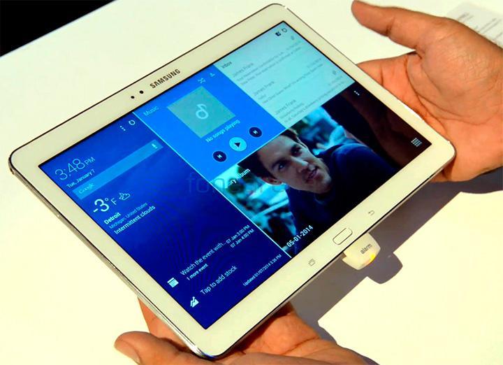 Rumores sobre tablet com tela de 18,4 polegadas da Samsung