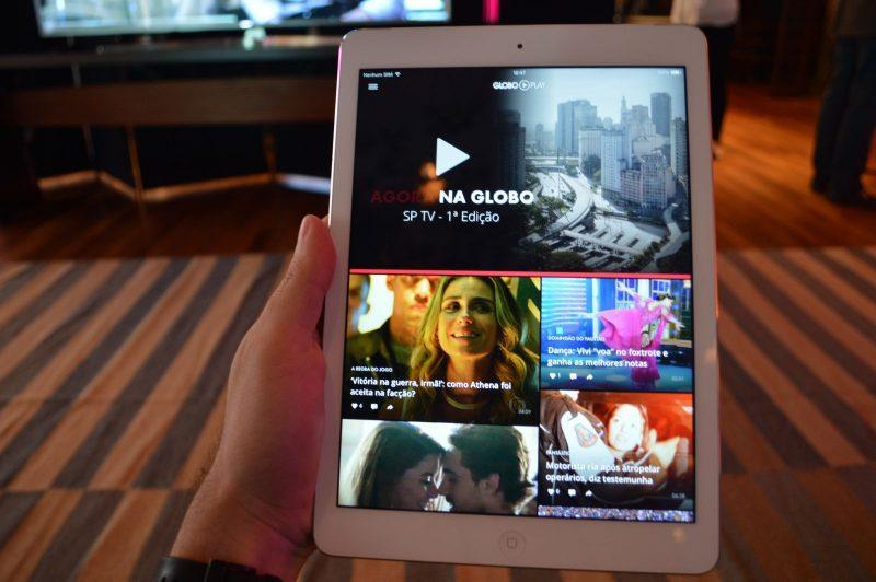 Novo app da Globo permite acesso à programação da emissora