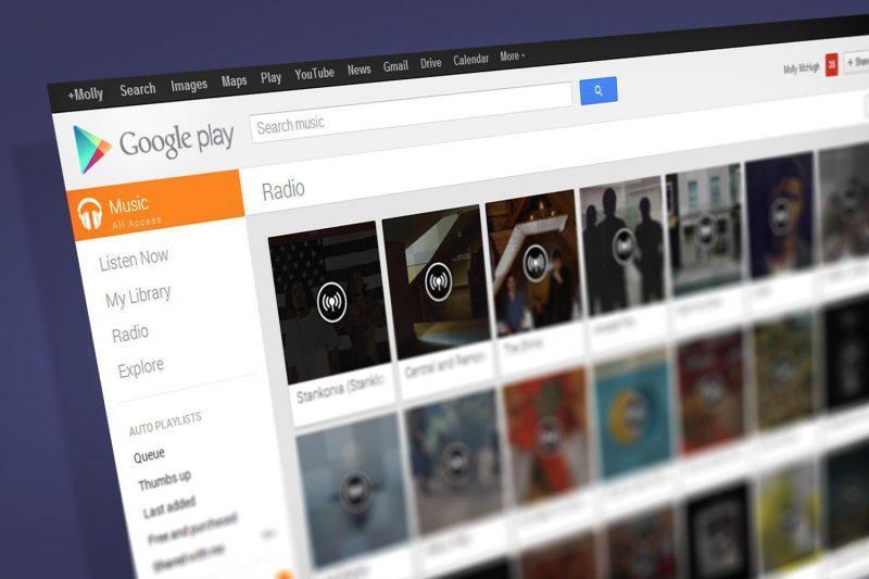 Atualização do Google Play Music tem foco em estações de rádio