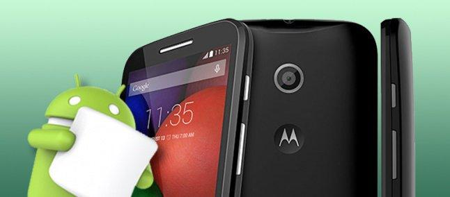 Moto E primeira geração recebeu a nova versão do Android