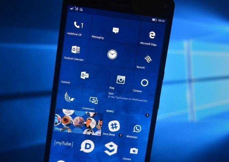 Testes para corrigir os erros do Windows 10 Mobile foram iniciados