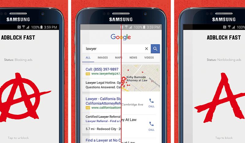 App bloqueia publicidade no Android