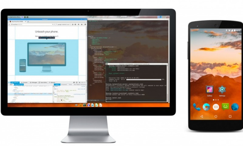 Android poderá ter integração entre computadores de mesa e smartphones