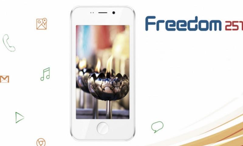 Freedom 251 – Smartphone Indiano é o Mais Barato do Mundo
