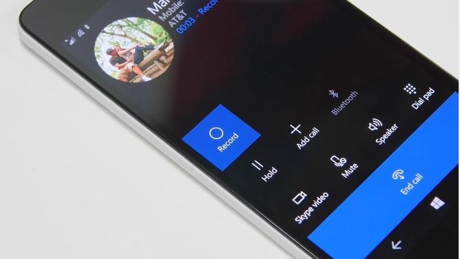 Windows Phone 10 Mobile permite gravar chamadas