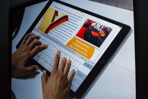 Lançamento do novo iPad Pro