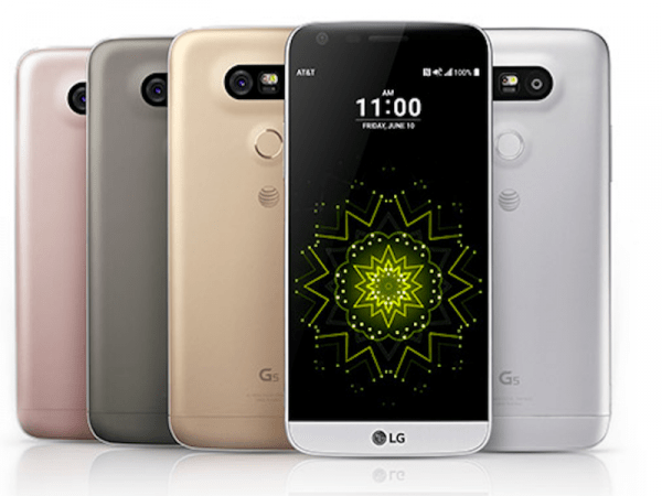Comparação do desempenho da bateria do LG G5 e LG G4