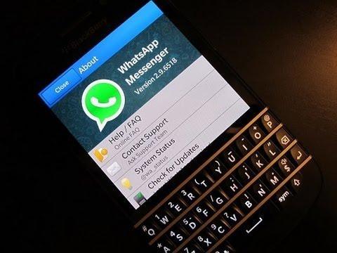 BlackBerry busca soluções para continuar com atualizações do Whatsapp