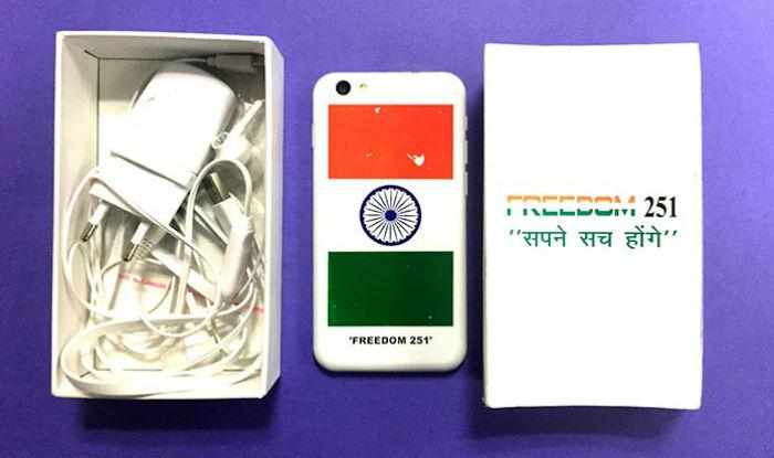 Freedom 251 – Celular Mais Barato do Mundo começa a ser Entregue