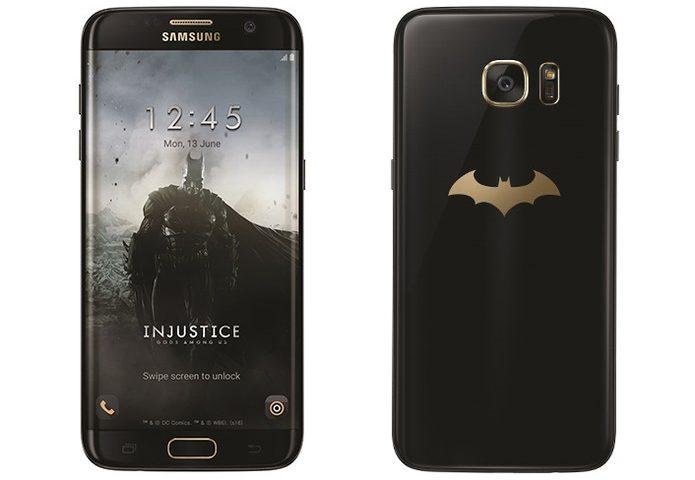 Samsung Galaxy S7 Edge – Edição Especial do Batman