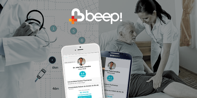 Beep Saúde – Aplicativo leva Médicos à Sua Casa.