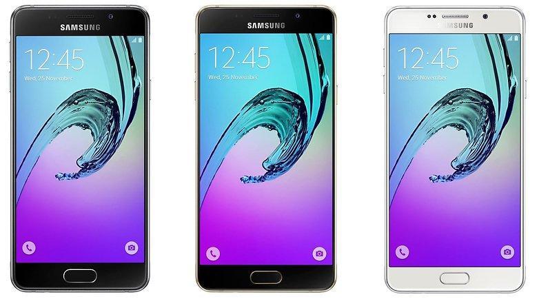Samsung Galaxy A7, A5 e A3 – Lançamentos 2017